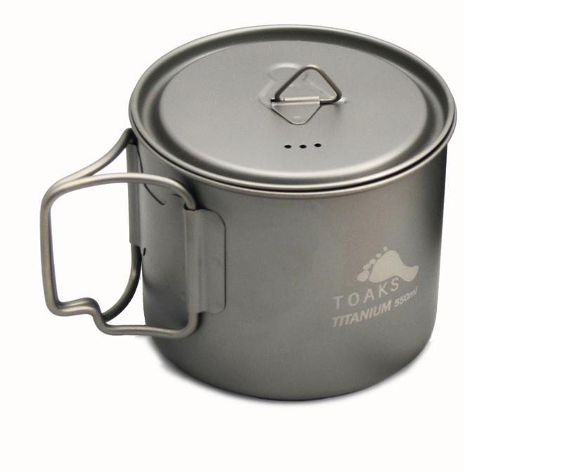 Vas 550 ml Pot light Titanium