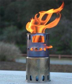 Arzător Toaks Titanium Wood Burning Stove