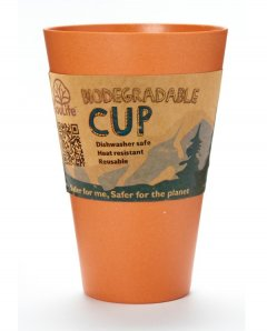 Eco Soul Life Cup 15oz orange