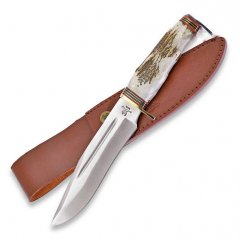 Cutit Whitetail Cutlery Bowie Stag
