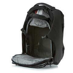 Osprey Porter 46 Black open