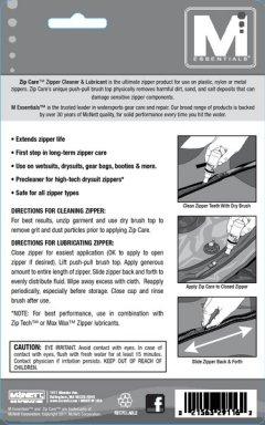 McNett Zip Care directions