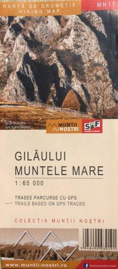 Schubert & Franzke Harta M-tii Gilăului, Muntele Mare