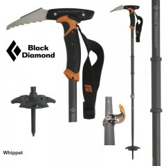 Bat telescopic cu cap piolet Black Diamond Whippet