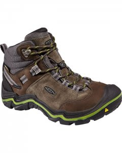 Keen Wanderer WP W Raven Bright Chartreuse
