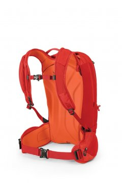 Osprey Kamber 22 Ripcord Red back