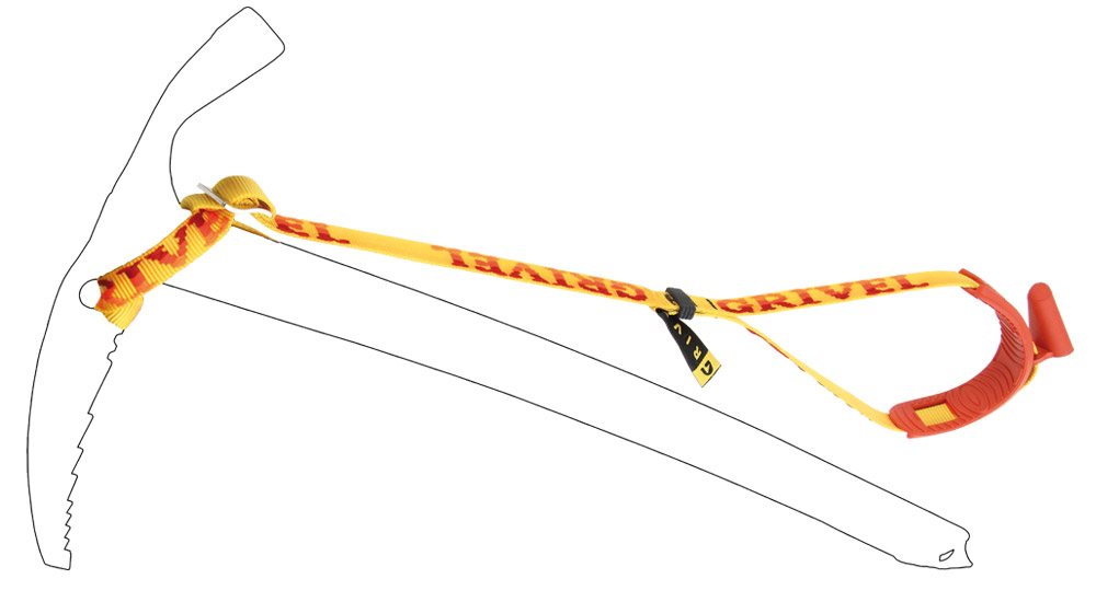 Grivel Chinga piolet Long Leash