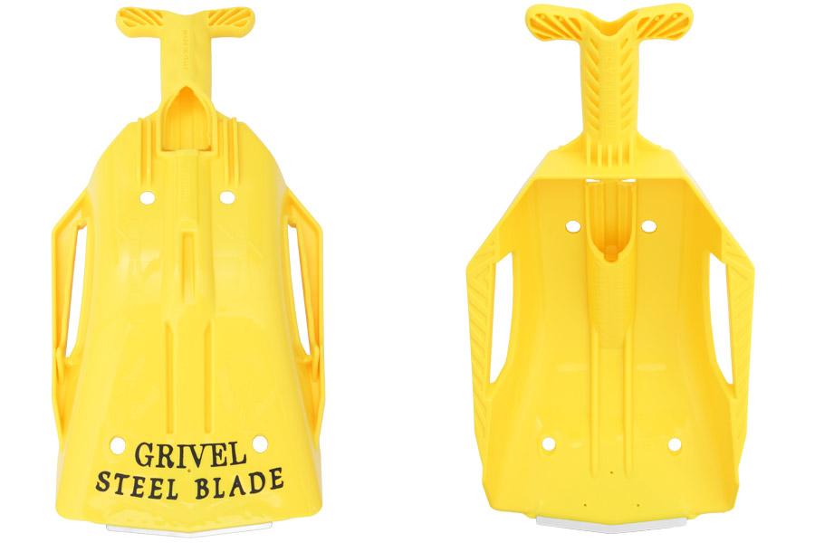 Grivel Steel Blade Shovel yellow