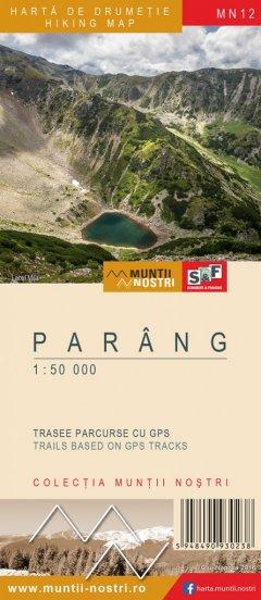 Schubert & Franzke Harta M-ții Parâng