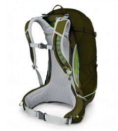 Osprey Stratos 34 2017 Gator Green back