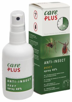 Spray anti insecte Care Plus® DEET - 100 ml