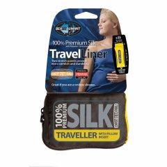 Lenjerie pentru sacul de dormit Sea to Summit Silk Traveller (Pillow Insert)
