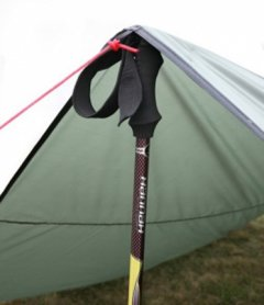 Hannah Skyline 4 with trekking pole