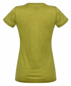 Hannah Valery Lime green back