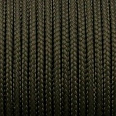 Paracord Type I, Roll Black 2.1mm