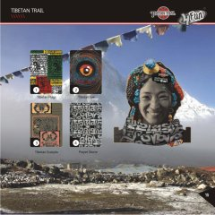 Bandana multifunctionala 4 FUN Tibetan Trail