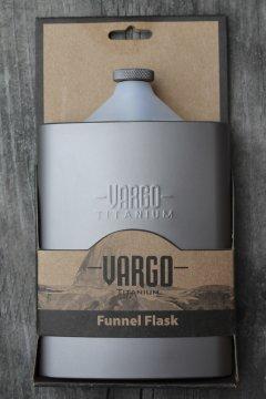 Sticla de buzunar Vargo, din Titan, 240 ml, Hip Flask