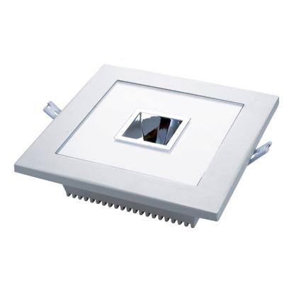 SPOT LED ECONOMIC 15W 220V (5W COB+10W SMD) LUMINA ALBA RECE