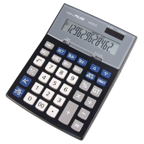 Calculator 12 digits Milan 153012TAXA