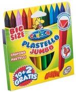 Creioane colorate triunghiulare Carioca