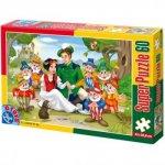 Puzzle D-Toys Basme, 60 piese