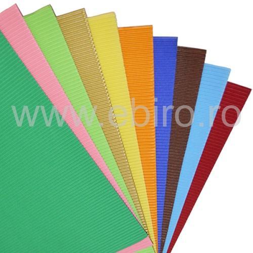 carton ondulat color