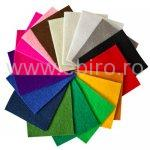Hartie catifelata A4 color, 10 culori/set