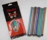 Creioane Montex 12 culori