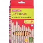 Creioane colorate Herlitz 12c