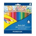 Creioane colorate NORIS 24/set