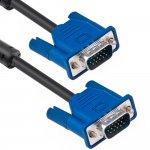 Cablu DeTech VGA - VGA, 1.8m
