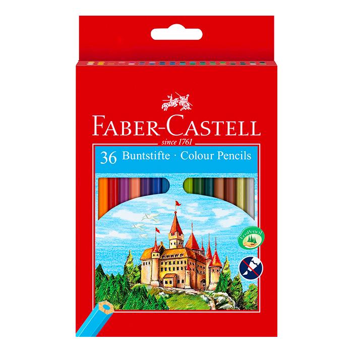creion 36 culori faber castell