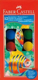 Acuarele 12 culori cu pensula FABER-CASTELL