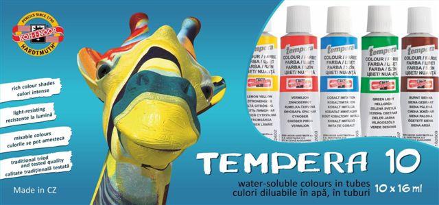 tempera 10 culori