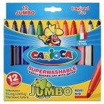 Carioca Jumbo 12 culori