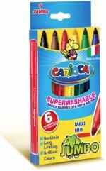 Carioca Jumbo 6 culori