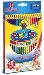 Creioane Carioca 18 culori