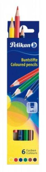 Creioane Pelikan 6 culori