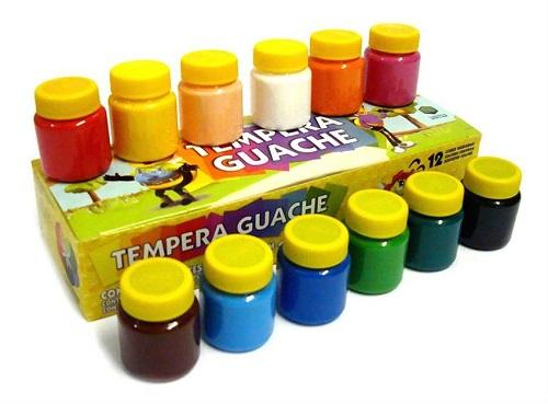 Guase tempera 12