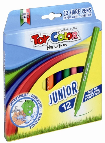 Carioci Junior Toy Color 12 culori