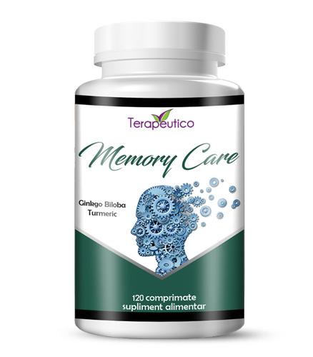 Memory Care cu Ginkgo Biloba si Turmeric 120 cp