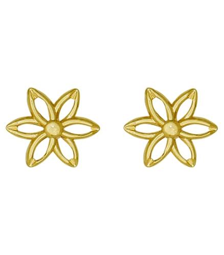 Cercei placati cu aur 18K