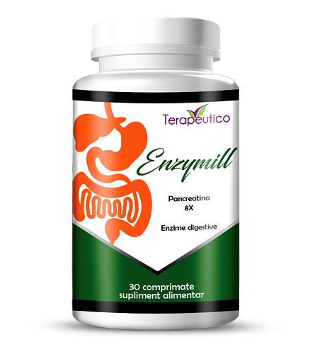 EnzyMill enzime digestive 30 cp