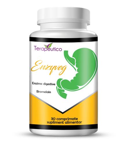 EnzyVeg enzime vegetale digestive 30 cp