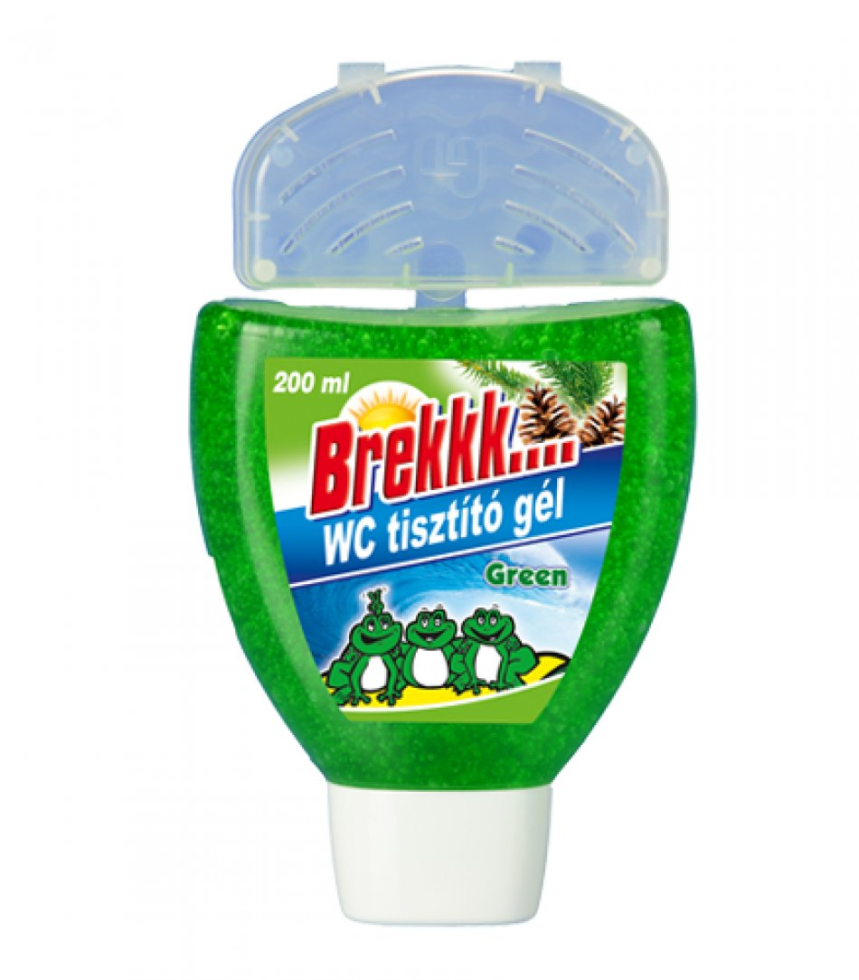Gel wc cu cos 200ml verde