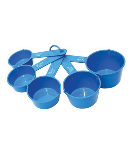 Set de 5 cupite masuratoare din plastic