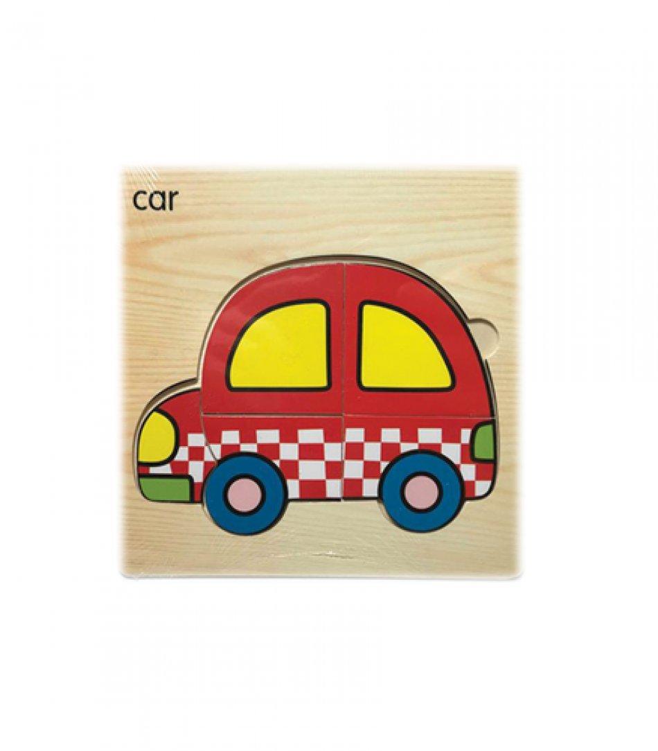 Set puzzle din lemn pentru copii 5 piese