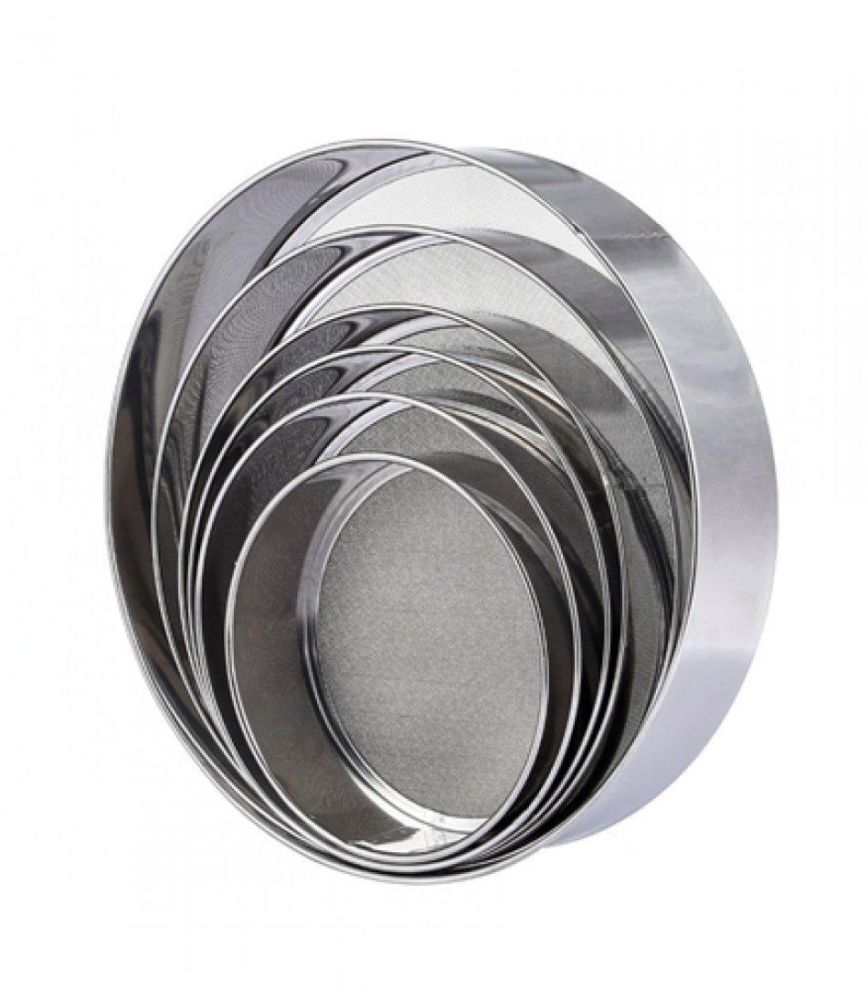 Set 6 site metalice pentru faina alba, 6 dimensiuni