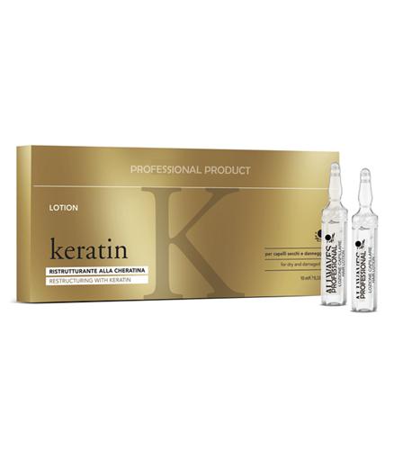 Fiole restructurante cu Keratina 10x12 ml