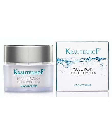 Crema de noapte cu Acid Hialuronic Krauterhof 50ml
